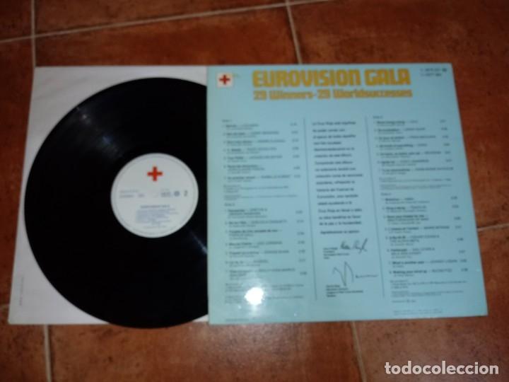 Discos de vinilo: EUROVISION GALA 25 AÑOS DE EUROVISION GANADORES 1956-1981 1 LP VINILO 1981 ESPAÑA GATEFOLD 14 TEMAS - Foto 3 - 143331154