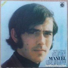 Discos de vinilo: JOAN MANUEL SERRAT, SIN TITULO, LP NOVOLA, PORTADA ABIERTA SPAIN 1969. Lote 143332306