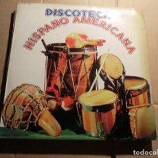 Discos de vinilo: DISCOTECA HISPANOAMERICANA LP. Lote 143334586