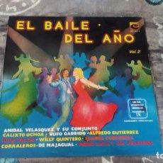 Discos de vinilo: HOY! EL BAILE DEL AÑO VOL.2 - CORRALEROS DE MAJAGUAL - LPC 8258 - VENEZUELA. Lote 143344426