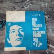 Discos de vinilo: NELO + LOS ASTROS (EN EL VIII FESTIVAL ESPAÑOL DE LA CANCIÓN DE BENIDORM - 1966 - ESPAÑA. Lote 143346950