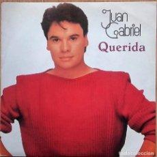 Discos de vinilo: JUAN GABRIEL QUERIDA / EL NOA NOA II -SINGLE PROMO SPAIN 1984. Lote 143367570