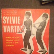 Disques de vinyle: SYLVIE VARTAN: RITMO DE LLUVIA, DANCING PART , WHATD I SAY+ 1 RCA ED.ESPAÑA 1963 RAY CHARLES. Lote 143371430