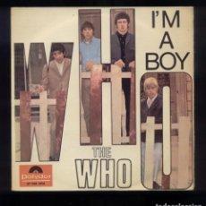 Discos de vinilo: THE WHO I'M A BOY EP ESP. 1966 POLYDOR 27 789 EPH. Lote 143372806