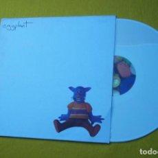 Discos de vinilo: LP EGGPLANT CATBOY (M-/M-) WHITE VINYL ELEFANT Ç. Lote 143374034