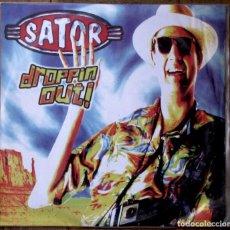 Discos de vinilo: SATOR. DROPPIN OUT. SAFETY PIN, SPCS-010. ESPAÑA, 2001. FUNDA Y DISCO EX EX.. Lote 143374874