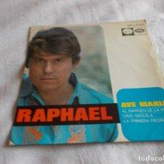 Discos de vinilo: RAPHAEL AVE MARIA . Lote 143376202