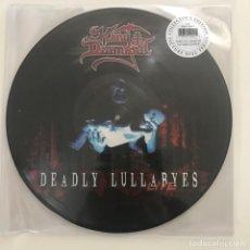 Discos de vinilo: KING DIAMOND - DEADLY LULLABYES LIVE (2004) - LP DOBLE PICTURE DISC REEDICIÓN METAL BLADE 2018 NUEVO. Lote 143379674