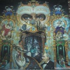 Discos de vinilo: MICHAEL JACKSON DANGEROUS DISCO DOBLE. Lote 143380250