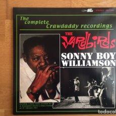 Discos de vinilo: SONNY BOY WILLIAMSON & THE YARDBIRDS: THE COMPLETE CRAWDADDY RECORDINGS (GET BACK 546). Lote 143381614