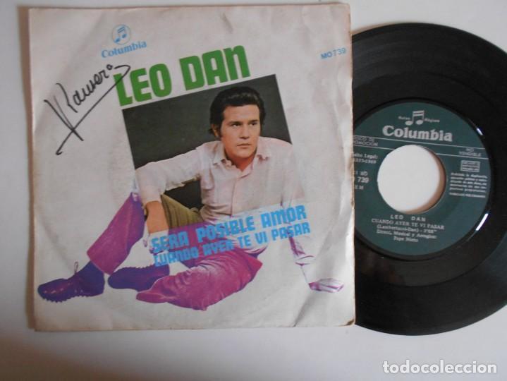 LEO DAN-SINGLE SERA POSIBLE AMOR (Música - Discos - Singles Vinilo - Grupos y Solistas de latinoamérica)