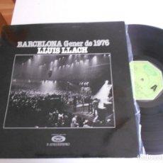 Discos de vinilo: LLUIS LLACH-LP BARCELONA GENER DE 1976-NUEVO. Lote 143382410