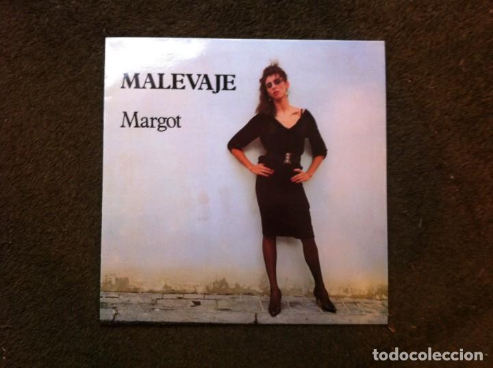 MALEVAJE. MARGOT (LP) 1986 (Música - Discos - LP Vinilo - Otros estilos)