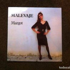 Discos de vinilo: MALEVAJE. MARGOT (LP) 1986. Lote 143382526