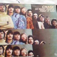 Discos de vinilo: SINGLE (VINILO) DE CHASE AÑOS 70. Lote 143391358