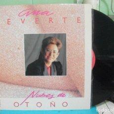 Discos de vinilo: ANA REVERTE - NUBES DE OTOÑO - LP HORUS 1987 NUEVO¡¡. Lote 143394554
