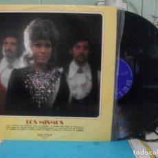 Discos de vinilo: LOS MISMOS - VOY A PINTAR LAS PAREDES CON TU NOMBRE - LP BELTER 1971 PEPETO. Lote 143396218