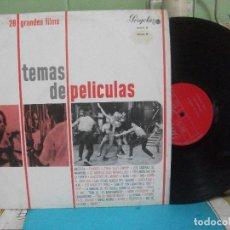 Discos de vinilo: TEMAS DE PELICULAS - 28 GRANDES FILMS / LP PERGOLA DE 1967 PEPETO. Lote 143396658