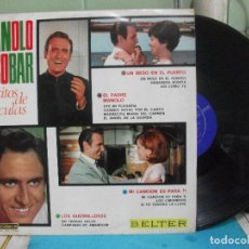Discos de vinilo: LP - MANOLO ESCOBAR - EXITOS DE PELICULAS - BELTER 1967 PEPETO. Lote 143396830