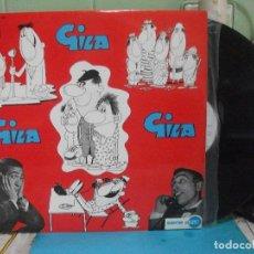 Discos de vinilo: GILA GILA GILA LP EMI SERIE AZUL 1969 PEPETO. Lote 143396922