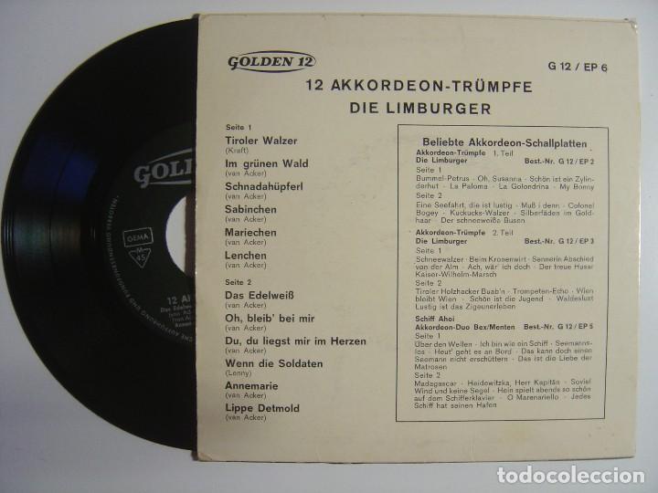 Discos de vinilo: Die Limburger - 12 Akkordeon-Trümpfe - single aleman - Foto 2 - 143405918
