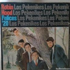 Discos de vinilo: LOS PEKENIKES. Lote 143410657