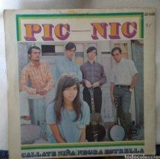 Discos de vinilo: PICNIC. Lote 143410865