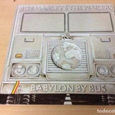 Discos de vinilo: BABYLON BY BUS - BOB MARLEY & THE WAILERS. Lote 143410986