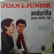 Discos de vinilo: JUAN Y JUNIOR. Lote 143411189