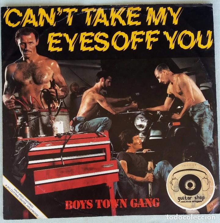 can´t take my eyes off you. boys town gang. max - Buy Vinyl ...