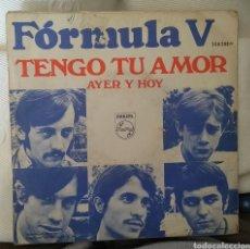 Discos de vinilo: FÓRMULA V. Lote 143416154