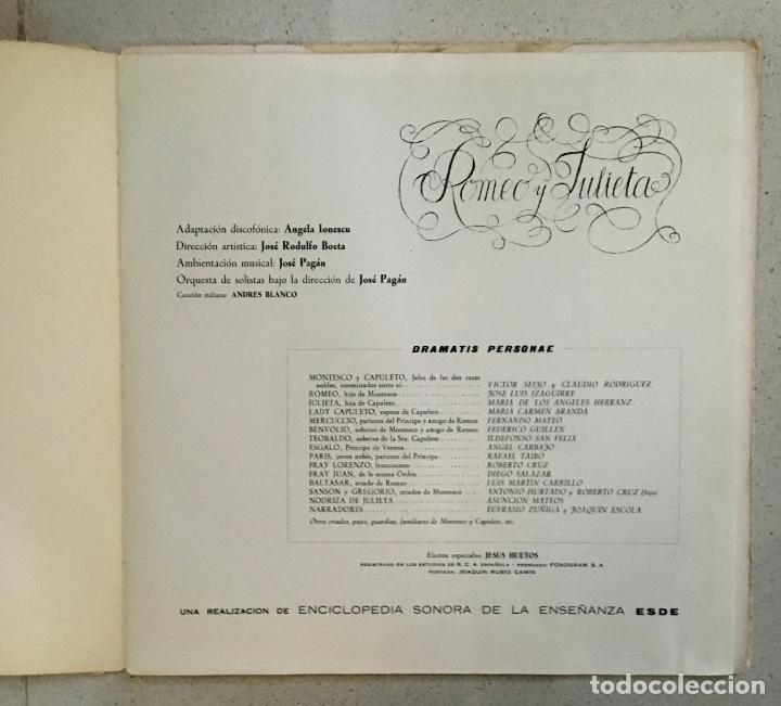 Discos de vinilo: Romeo y Julieta - Doble LP - Foto 2 - 143417498