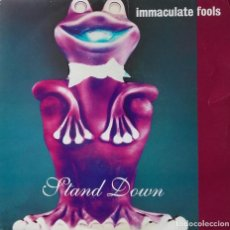 Discos de vinilo: IMMACULATE FOOLS: STAND DOWN . Lote 143443482