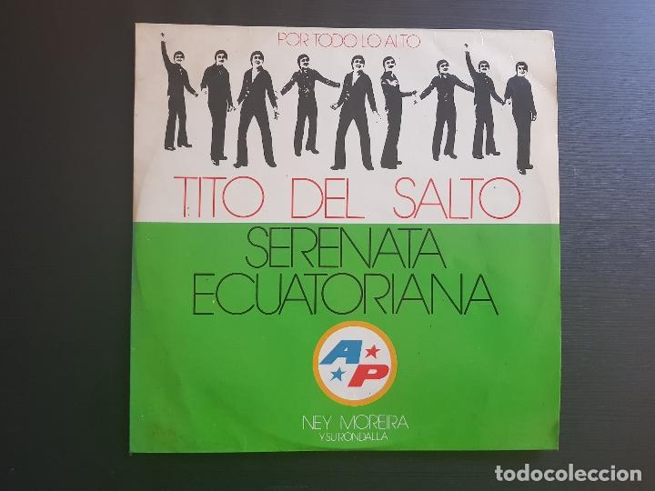 TITO DEL SALTO - SERENATA ECUATORIANA - LP VINILO - ANGELITO - STUDIO 2 - 1975 (Música - Discos - LP Vinilo - Grupos y Solistas de latinoamérica)