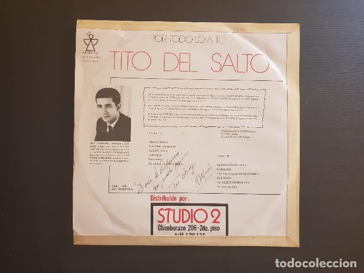 Discos de vinilo: TITO DEL SALTO - SERENATA ECUATORIANA - LP VINILO - ANGELITO - STUDIO 2 - 1975 - Foto 2 - 143491074