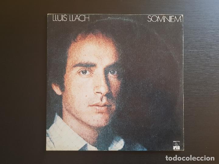 LLUIS LLACH - SOMNIEM - LP VINILO - ARIOLA - 1979 (Música - Discos - LP Vinilo - Solistas Españoles de los 70 a la actualidad)