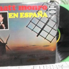 Discos de vinilo: MATT MONRO EN ESPAÑA, Nº 2 - LP. DEL SELLO CAPITOL DE 1970 PEPETO. Lote 143509586