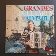 Discos de vinilo: AIMABLE - GRANDES BULEVARES - LP VINILO - . Lote 143510574