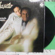 Discos de vinilo: BASILIO-DEMASIADO AMOR LP PORTADA DOBLE EDITADO POR NOVOLA EN 1977 NUEVO¡¡. Lote 143513002