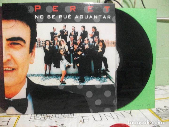 PERET - NO SE PUEDE AGUANTAR LP PDI 1991 PEPETO (Música - Discos - LP Vinilo - Flamenco, Canción española y Cuplé)
