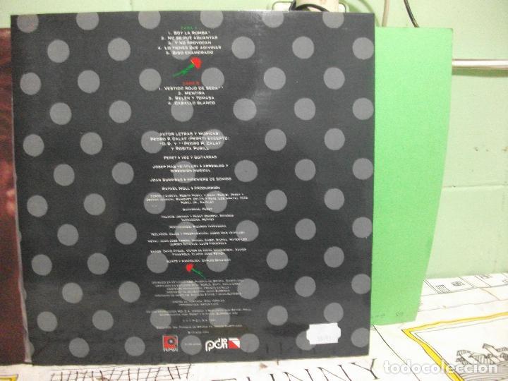 Discos de vinilo: PERET - NO SE PUEDE AGUANTAR LP PDI 1991 PEPETO - Foto 2 - 143515358