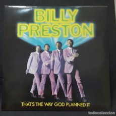 Discos de vinilo: BILLY PRESTON - BEATLES - THAT'S THE WAY - DOBLE LP - ALEMANIA - REEDICION- APPLE - GEORGE HARRISON. Lote 143518750