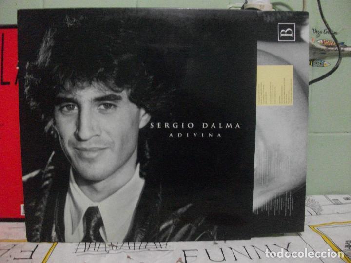 SERGIO DALMA, ADIVINA . LP HORUS 1992, CON ENCARTE DE LETRAS PEPETO (Música - Discos - LP Vinilo - Solistas Españoles de los 70 a la actualidad)