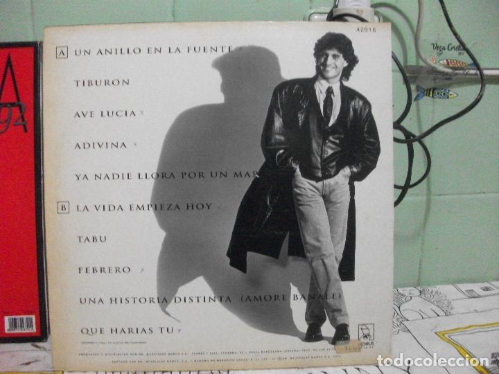 Discos de vinilo: sergio dalma, adivina . lp horus 1992, con encarte de letras pepeto - Foto 2 - 143523550