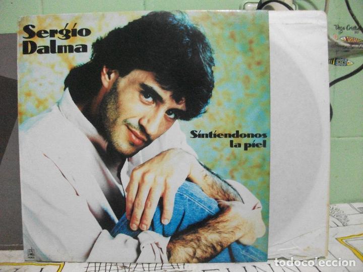 SERGIO DALMA SINTIENDONOS LA PIEL LP 1994 HORUS ESPAÑA PEPETO (Música - Discos - LP Vinilo - Solistas Españoles de los 70 a la actualidad)