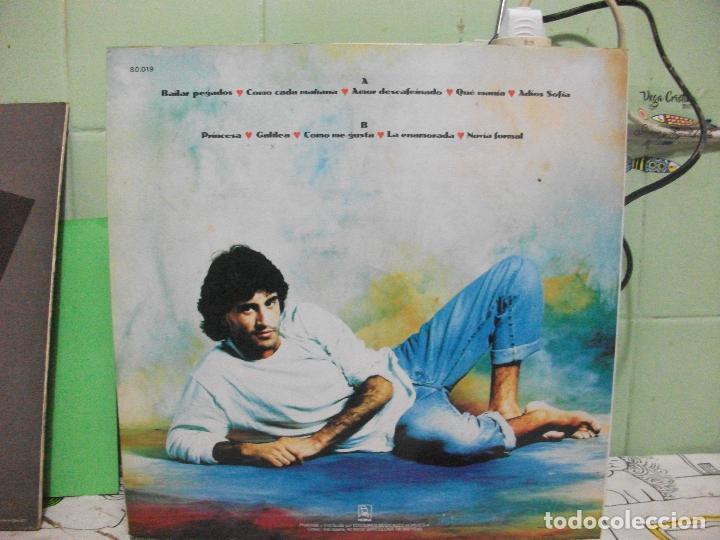 Discos de vinilo: SERGIO DALMA SINTIENDONOS LA PIEL LP 1994 HORUS ESPAÑA pepeto - Foto 2 - 143524982