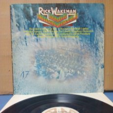 Discos de vinilo - Rick Wakeman - Journey Of The Center Of The Earth 1974 GER Gatefold - 143542718