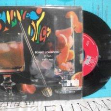 Discos de vinilo: BENNY JOHNSON Y SUS SOLISTAS SUAVE Y DULCE EP SPAIN 1968 PDELUXE. Lote 143561666