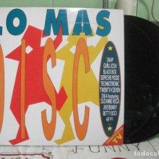 Discos de vinilo: LO MAS DISCO. ARIOLA 1990, LP DOBLE, RECOPILATORIO NUEVO¡¡. Lote 143582658