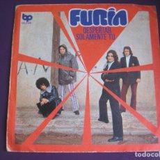 Discos de vinilo: FURIA SG BELTER PROGRESIVO BP 1972 DESPERTAR +1 HARD ROCK 70'S - EX GATOS NEGROS. Lote 143589158